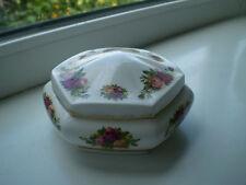 Royal Albert Old Country Roses Trinket Dish Hexagonal 2nd Quality Bone China