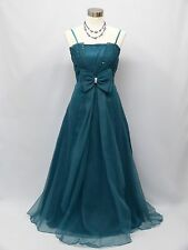 Cherlone Green Ballgown Wedding Evening Bridesmaid Formal Full Length Dress 16