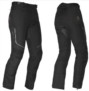 Richa Colorado Mens Motorcycle Textile Black Trousers Regular Leg