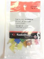Radio Shack Fast Acting Automotive 32 Volt ATM Fuse Assortment #270-0066