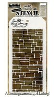 New Slate Design Layering Stencil Stampers Anonymous Tim Holtz Collection THS085