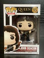 Pop! Rocks: Queen- John Deacon #95 Collectable Funko Pop Vinyl Figurine