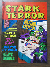 Stark Terror v1 #5 August 1971 VG Condition Horror B&W Magazine in EC-like Style