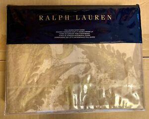 NEW Ralph Lauren Weston Park Attley Gold Leaf Full/Queen Duvet Cover