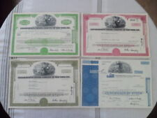 Canceled Stock Certifacates Lot of 5 Consolidated Edison Co of New York, Inc