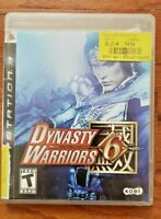 DYNASTY WARRIORS 6 – SONY PLAYSTATION 3 (PS3) – VIDEO GAME