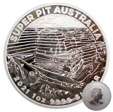 ++ Super Pit 2021 - Perth Mint - 1oz Silber / Ag  ++