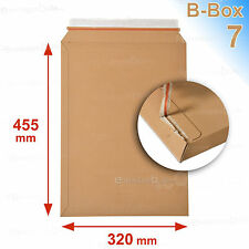 10 Enveloppes/pochettes carton rigide 320x455  B-Box 7