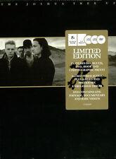 "U2 ""THE JOSHUA TREE"" RARE BOX LIMITED ED 2 CD + DVD + BOOK + PRINTS - SEALED"