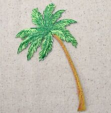 Palm Tree - LARGE - Tropical/Beach - Iron on Applique/Embroidered Patch