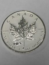 2016 Canadian Maple Leaf coin Reverse Proof Tank Privy Silver Mintage 50,000