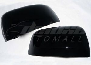 GLOSS BLACK Mirror Covers FOR Jeep Grand Cherokee and Dodge Durango