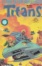TITANS N° 84 . janvier 1986 . LA GUERRE DES ETOILES / DAZZLER / MIKROS /