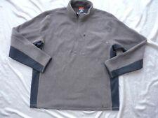 NIKE ACG Cross Signal Half Zip Fleece sz.XL - NEW Cold Brown NikeFit Therma Mens