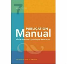 Publication Manual of the American Psychological Association 7th (Digital, 2020)