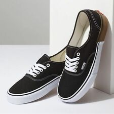 163d72c6447 VANS Authentic Gum Block Black Men s Classic Skate Shoes Size 11.5