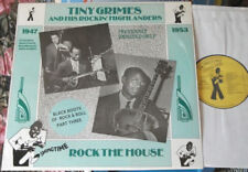 "TINY GRIMES and his Rockin' Highlanders ""Rock The House"" LP 1947-53 MINT 1986"