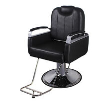 Hydraulic Salon Barber Chair Hair Styling Beauty Spa Shampoo Equipment Black
