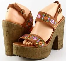 11fb975a3483 High (3 in. to 4.5 in.) Block Floral Heels for Women for sale