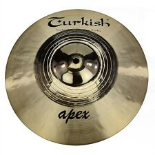 "TURKISH CYMBALS Becken 10"" Splash Apex Rock Series bekken cymbale cymbal 298g"