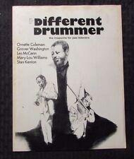 1975 DIFFERENT DRUMMER Magazine v.1 #15 FN- 5.5 Coleman Washington McCann JAZZ