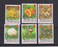 Alderney 2003 MNH UMM Stamp Set SG A223-A228 Fungi Mushrooms 10% off 5