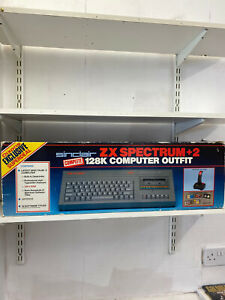 Sinclair ZX Spectrum 128k  +2 And Box