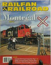 Railfan & Railroad May 2016 Montreal Historic Stevens Pass FREE SHIPPING sb