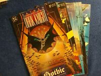 BATMAN LEGENDS OF THE DARK KNIGHT #6-10 (GOTHIC 1-5 COMPLETE) DC COMICS 1990 VF