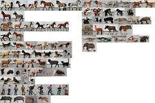 #01 Schleich Tiere-Menschen-Figuren-teilweise selten-neu-Aussuchen