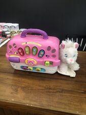 Baby Musical Cat Carrier Light Up Cat Plush