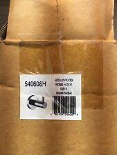 Hollywood Robe Hook Brush Nickel Qty 50 540608H