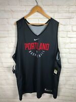 OFFICIAL NBA PORTLAND TRAILBLAZERS Nike PRACTICE JERSEY Team Issued 4XLT Rare