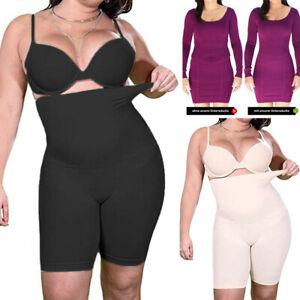 Women High Waist Shorts Slimming Control Tummy Corset Boned Pants Body Shaper US