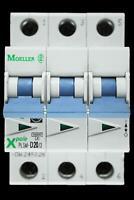 MOELLER 16 AMP TYPE D 10kA MCB CIRCUIT BREAKER XPOLE PLSM-D16