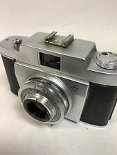 Agfa Silette Pronto vintage film camera and leather case