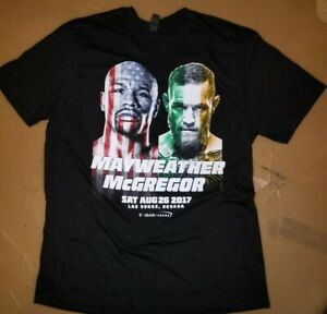 2017 Floyd Mayweather vs Conor Mcgregor PPV Boxing Fight Shirt | SIZE XL Mens