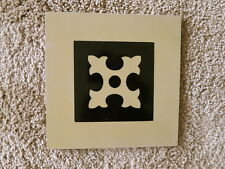 """Titanic movie set floor tile from third class-pristine condition - 8"""" by 8"""""""