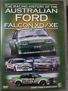 The Australian Racing History Of The Ford Falcon XD XE. DVD. BRAND NEW UNSEALED.