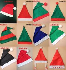 Santa Elf Hats Adult Child Unisex Christmas Costume Bulk Quantity Wholesale