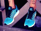 NIKE AIR ZOOM PEGASUS 32 Running Trainers Shoes Gym UK 12 (EUR 47.5) Blue Lagoon