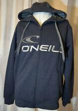 O'Neill Original Men's Zip Up Hoodie Ink Blue Size Medium Fleecy Hood