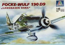 Italeri 1:48 Focke-Wulf Fw-190D9 Kit Nr. 856. German WW II Fighter.