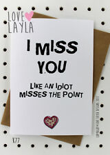 Greetings Card / Birthday / Cheeky / Comedy / Love Layla / Funny / Humour / K77