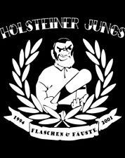 HOLSTEINER JUNGS SKINHEAD T-Shirt Oi! RAC ROCKORAMA  Gr. L  ror rar ISD Vinyl LP