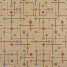 Arccom Candy Land Gumdrop Beige ,red, green, blue,Mid Century Upholstery Fabric