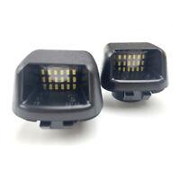 2*LED Rear Bumper License Number Plate Light For Nissan Navara D40 Lamp Bulb NRZ