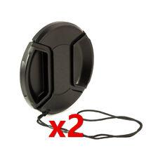 2x Bouchon cache objectif 49mm pour Sony Alpha Nex Canon EF 50mm f/1.8 STM
