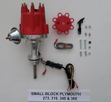small cap SMALL BLOCK PLYMOUTH 273, 318, 340 &360 PRO SERIES RED HEI Distributor