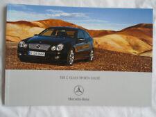 Mercedes C Class Sports Coupe brochure Jun 2006